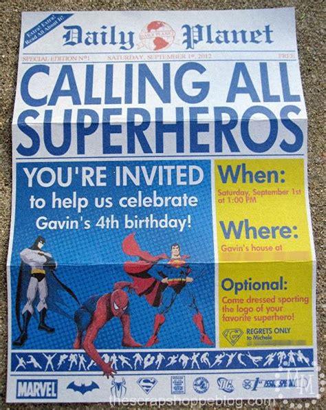 superhero invitation template free all in all i am super pleased