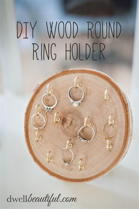 diy wood ring diy wood ring holder from erica diane s vintage zest