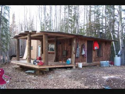 Single Level Floor Plans my log trapping cabin youtube