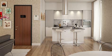 come arredare una cucina soggiorno muretti divisori cucina soggiorno camino centrale