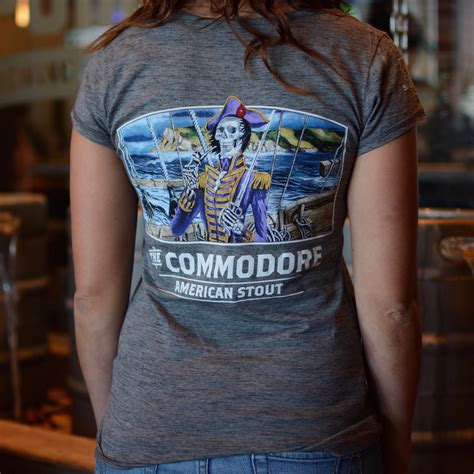 Tshirt Point Store commodore s t shirt ballast point brewing co