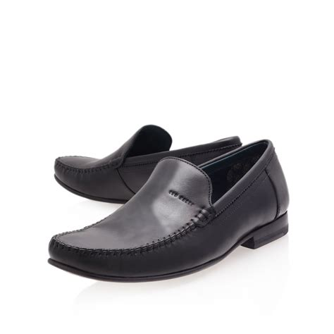 ted baker loafers ted baker simeen loafer in black for lyst