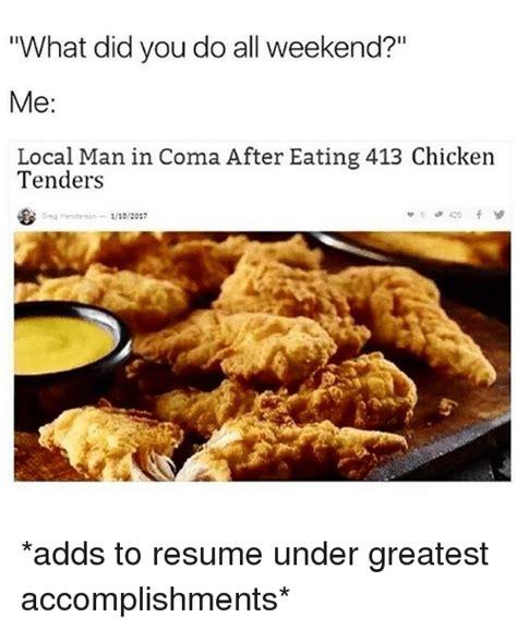 Chicken Resume