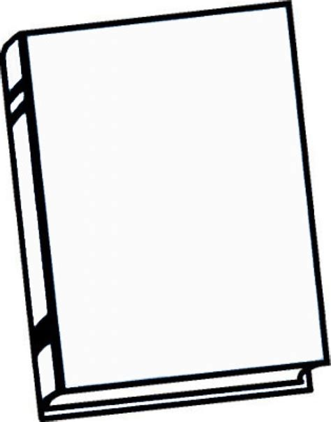 blank book template for blank book clipart frabbi me