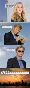 Caruso Meme - funny david caruso puts on glasses joke
