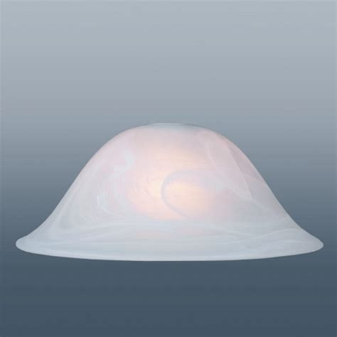 "Murano 13"" White Alabaster Glass Shade The Lighting Superstore"