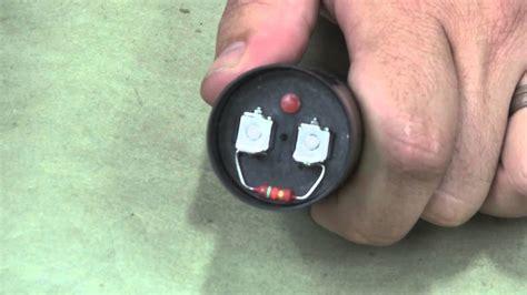 replacing  motor start capacitor    temco youtube
