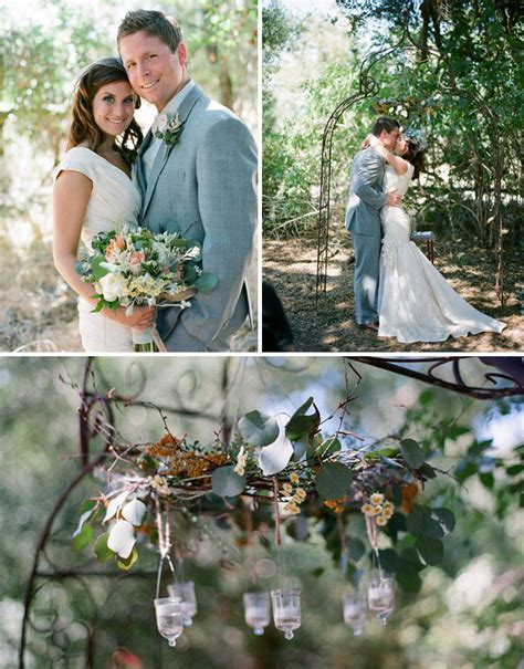 Backyard Summer Wedding by Outdoor Summer Wedding Inspiration Green Wedding Shoes