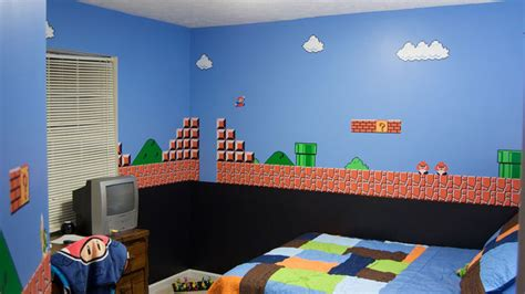 mario themed bedroom i m an adult and i want this room gamerfront