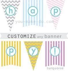 1000 Images About Printables Templates On Pinterest Printables Free Printables And Party Customizable Banner Template