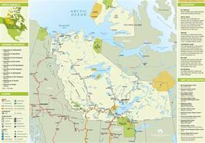 northwest territories canada map northwest territories tourist map