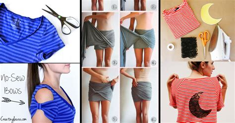 37 Truly Easy No Sew DIY Clothing Hacks ? Cute DIY Projects