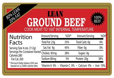 protein 80 20 ground beef nutritional value of cooked ground beef nutrition ftempo