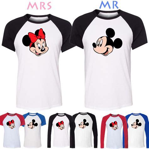 design a shirt disney disney world mickey minnie mouse design couple t shirt boy