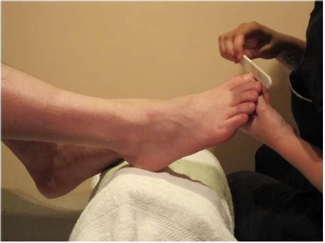 Mens Pedicure by Pedicures A Well Worn Combination Couturing