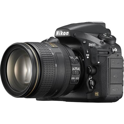 dslr nikon nikon d810 dslr with 24 120mm lens 1556 b h photo