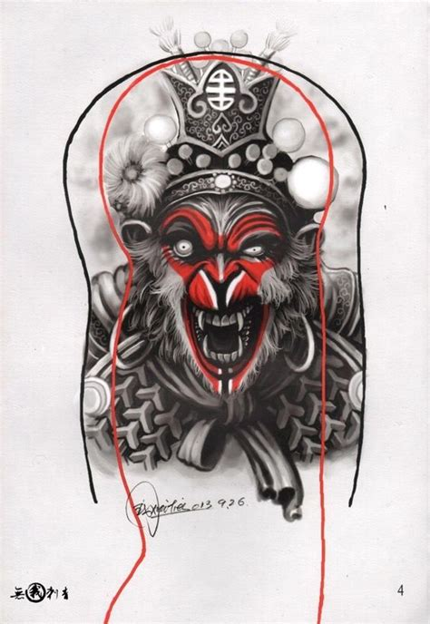 chinese monkey tattoo designs татуировка тату книги видео books vk