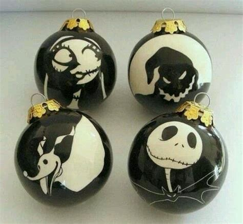 nightmare before christmas ornaments x mas