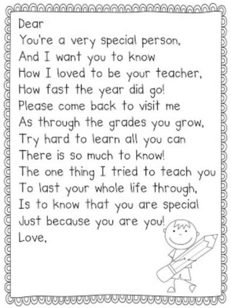 Thank You Letter For Pre K thank you letter to parents at the end of the school year