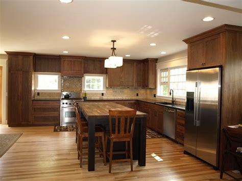 light wood floors   dark cabinets   stain