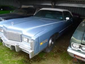 500ci Cadillac Cadillac Eldorado 1975 500ci Uk Registered Used As Wedding Car