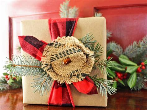 christmas gift wrap ideas 50 gift wrapping ideas hgtv