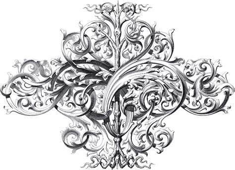 ornaments design spectacular large scrolls ornament the graphics