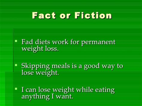 8 Fad Diets by Fad Diets