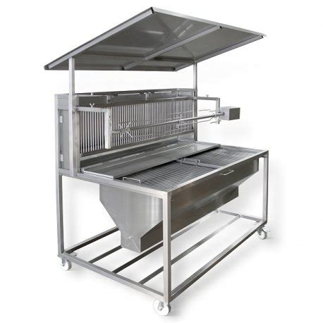 Grill Pattes Lisieux by Tournebroche Sur Barbecue Bois Professionnel B1600