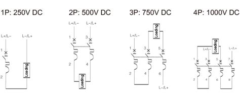 dc circuit breaker wiring diagram dc circuit breaker