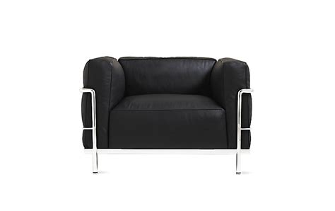 lc3 grand modele armchair lc3 grand modele armchair with down cushions design