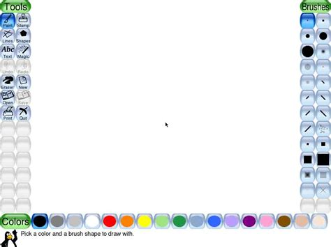 tux paint to play pin play tux paint on