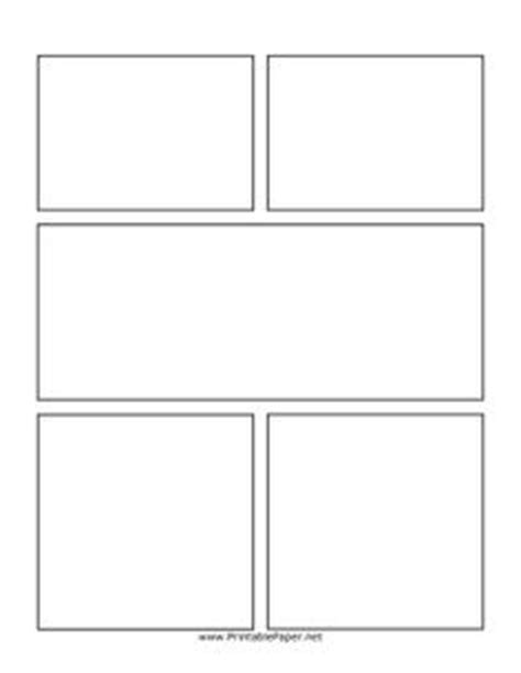 graphic novel template printable comic pages on comic books templates