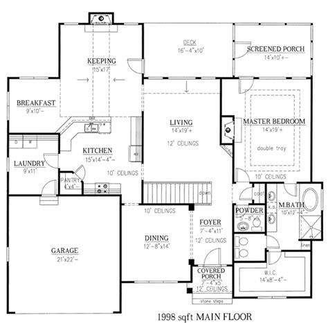 house plan 30502 at familyhomeplans ranch house plan 50238