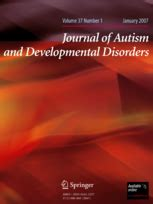 journal of autism and developmental disorders wikipedia