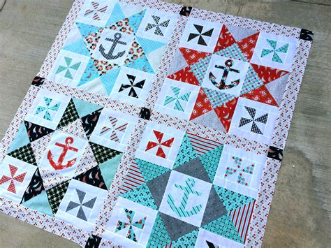Nautical Quilts Come Sail Away With Me Pattern