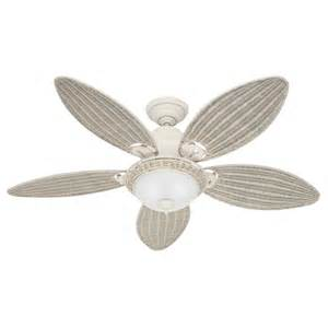 flush mount white ceiling fan with light shop caribbean 54 in textured white downrod
