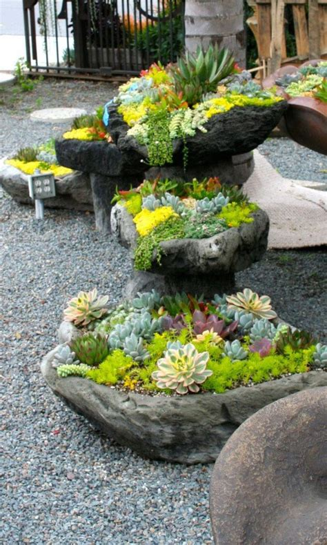 diy rock garden the cheapest 24 diy garden projects that anyone can make