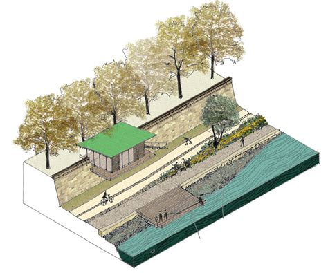 Design Library 64 3d berges du rhone 171 landscape architecture works