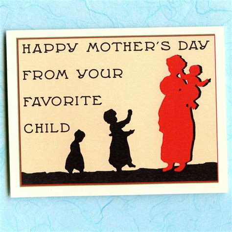 10 Favourite Cards For Mothers Day by S Day Card Your Favorite Child By Seasandpeas