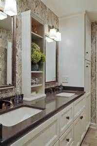 countertop shelves bathroom small bathrooms with clever storage spaces master bath