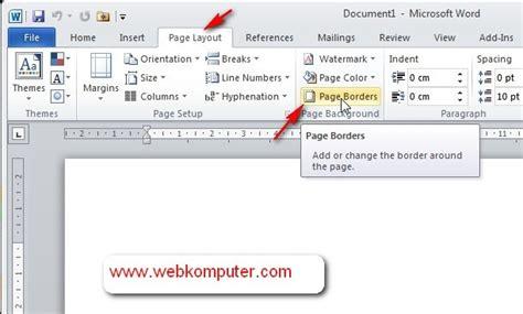 cara membuat no halaman pada word 2010 azwan