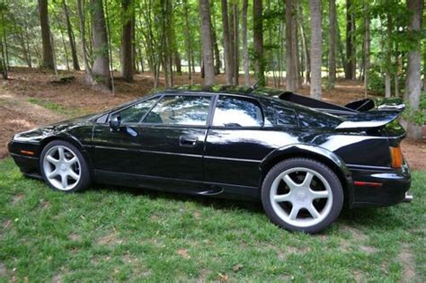 who owns lotus buy used 1998 lotus esprit v8 black no reserve last