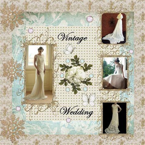 scrapbook templates wedding 50 best wedding album images on pinterest scrapbook