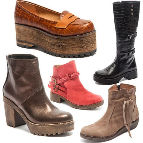 imagenes de botas invierno 2015 traza zapatos invierno 2015 zapatos de dise 241 o en cuero
