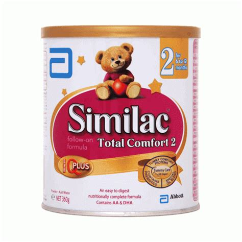 total comfort home care similac total comfort 2 360gm 6 12 months baby milk