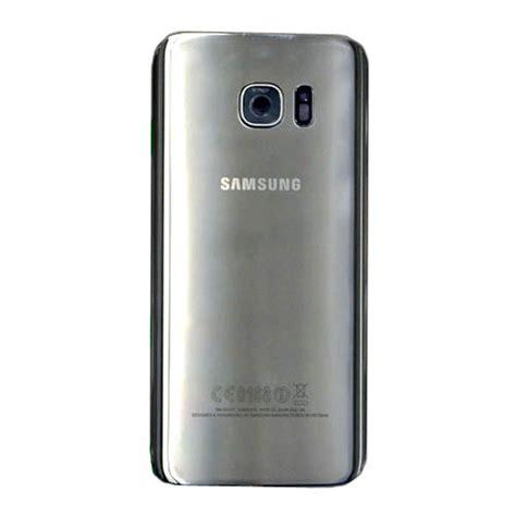 Battery Samsung Back Pack Galaxy S7 Original genuine samsung sm g935f galaxy s7 edge battery cover in silver samsung part no gh82 11346b