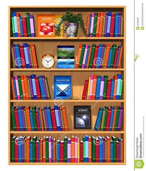 scaffale libri scaffale per libri di legno con il lotto dei libri di