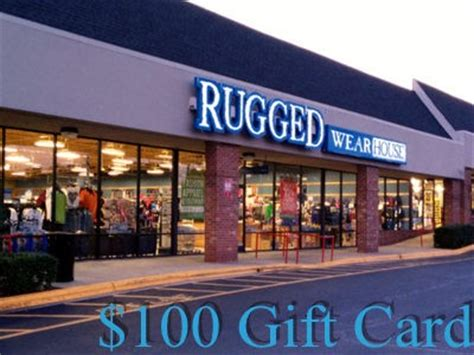 rugged wearhouse coupons www ruggedwearhouse survey win one 100 gift card through the rugged wearhouse customer