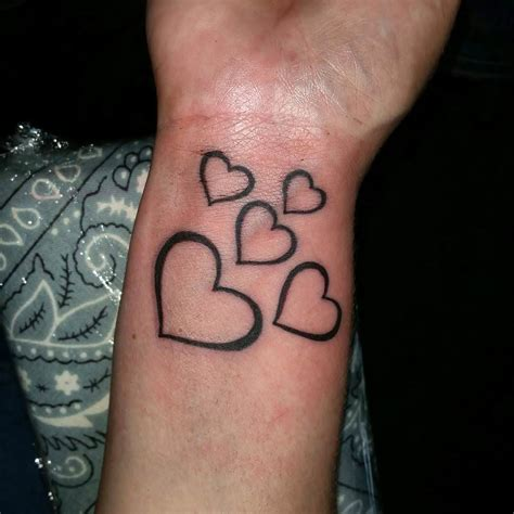heart wrist tattoos for women www imgkid com the image